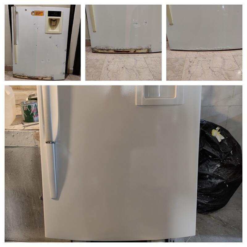تعمیر پوسیدگی درب و بدنه یخچال